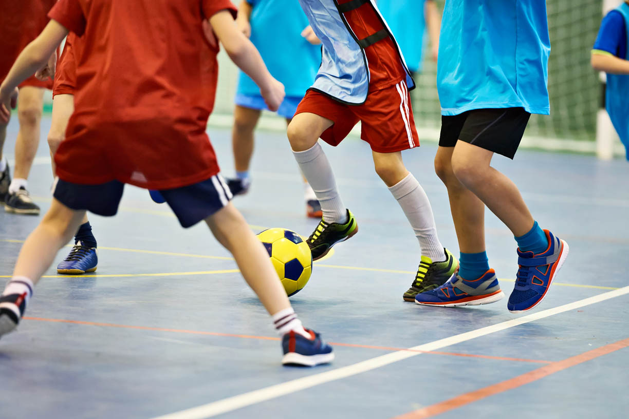 children playing no pe kit